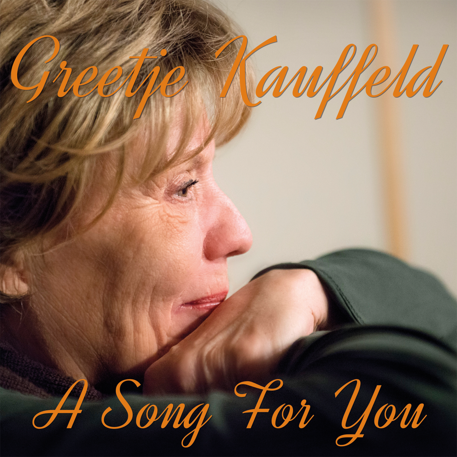 Greetje Kauffeld A Song For You CD cover